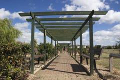 Jardins memoráveis de Labworth, Canvey Island, Essex, Inglaterra Imagens de Stock Royalty Free