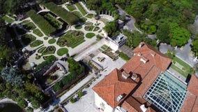 Jardins Miami de Vizcaya banque de vidéos