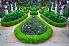 Jardins no conservatório de Phipps Imagem de Stock Royalty Free