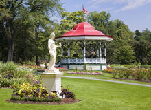 Jardins públicos, Halifax, Nova Escócia foto de stock