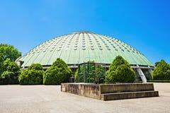 Jardins Palacio de Cristal Arkivbild