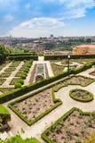 Jardins Palacio de Cristal Royaltyfri Fotografi