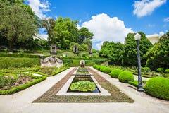 Jardins Palacio de Cristal Stock Images