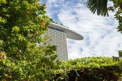 Jardins par le compartiment à Singapour Photographie stock