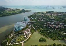 Jardins par le compartiment Singapour Photographie stock libre de droits