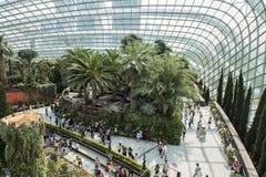 Jardins par le compartiment Singapour Photo libre de droits