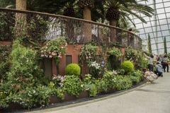 Jardins par le compartiment Singapour images stock