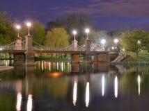Jardins publics de Boston Images libres de droits