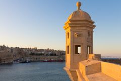 Jardins Senglea de Gardjola Photo stock