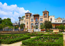 Jardins spain do parque de Sevilha Maria Luisa foto de stock royalty free
