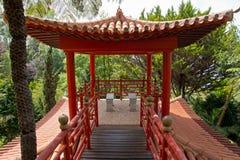 Jardins tropicaux en Monte Palace Photos libres de droits