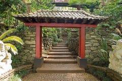 Jardins tropicaux en Monte Palace Photo stock