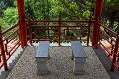 Jardins tropicaux en Monte Palace Images stock