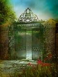 Jardín 2 del verano Foto de archivo libre de regalías