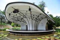 Jardín botánico de Singapur Foto de archivo libre de regalías