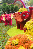 Jardín de Flowelephant Fotos de archivo