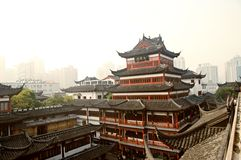 Jardín de SHANGAI CHINA OKT.15.2013 Yuyuan Imagen de archivo libre de regalías