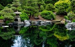 Jardín de té japonés Imagen de archivo libre de regalías