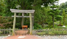 Jardín de té japonés de Fabyan Fotografía de archivo libre de regalías