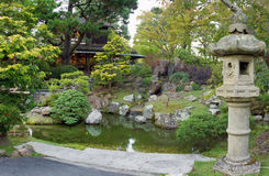 Jardín de té japonés en San Francisco Imagen de archivo libre de regalías