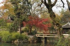 Jardín del administrador humilde, Suzhou, China Imagenes de archivo