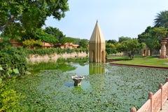 Jardín del templo Fotografía de archivo libre de regalías