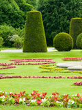 Jardín formal Foto de archivo libre de regalías
