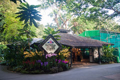 Jardín nacional de la orquídea Fotografía de archivo libre de regalías