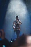 Jared Leto avec 30 secondes à Mars Photographie stock