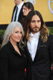 Jared Leto & Constance Leto Royalty Free Stock Photos