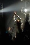 Jared Leto met 30 seconden aan Mars Royalty-vrije Stock Foto