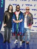 Jared Leto, Shannon Leto e Tomo Milicevic imagens de stock royalty free