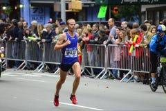 2017 NYC Marathon - Jared Ward Mens Elite Royalty Free Stock Image