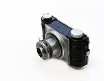 jaren '30 oude camera en lens royalty-vrije stock afbeeldingen