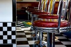 jaren '50 Diner Royalty-vrije Stock Foto