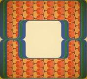 jaren '60 gestileerd frame Royalty-vrije Stock Afbeelding