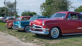 jaren '50 Chevrolet Bel Air Cars Royalty-vrije Stock Afbeeldingen