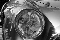 jaren '50ferrari 250 tdf voordetail Stock Foto's