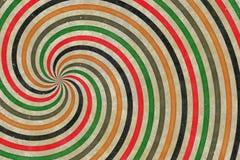 jaren '60 gekleurde textuur Royalty-vrije Stock Afbeelding