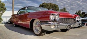 jaren '60 Klassiek Amerikaans Cadillac Royalty-vrije Stock Foto's