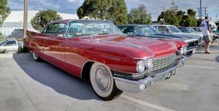 jaren '60 Klassiek Amerikaans Cadillac Stock Foto's