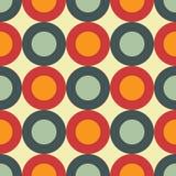 Jaren '60 naadloos patroon Stock Fotografie