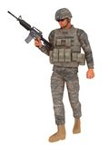 Jarhead на патруле Стоковое фото RF
