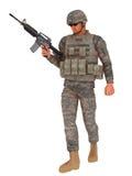 Jarhead sur la patrouille Photo libre de droits