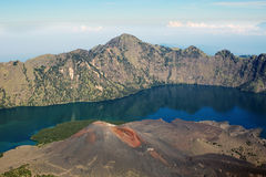 Jari Baru volcano Royalty Free Stock Photography