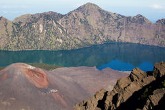 Jari Baru volcano Royalty Free Stock Image