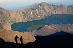 Jari Baru volcano Royalty Free Stock Photos