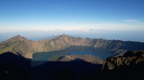 Jari Baru volcano Royalty Free Stock Photo