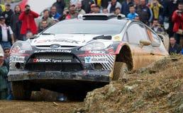 Jari Ketomaa (FIN) driving is Ford Fiesta RS WRC Stock Photo