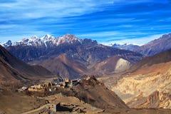 Jarkot village, Nepal Stock Photos